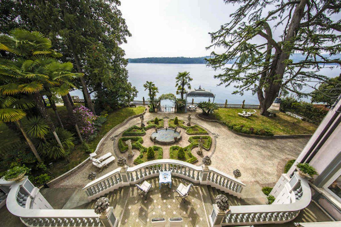Historische Villa am Gardasee zur Miete am Seeufer 04