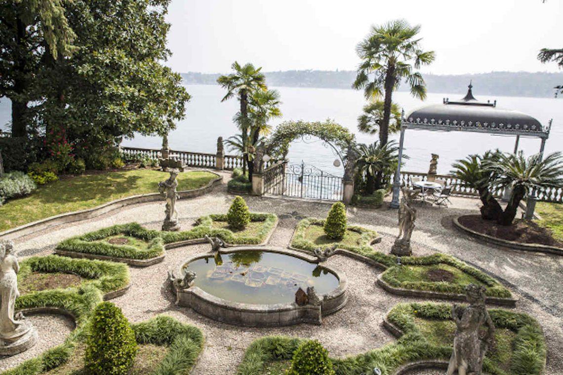 Historische Villa am Gardasee zur Miete am Seeufer 05
