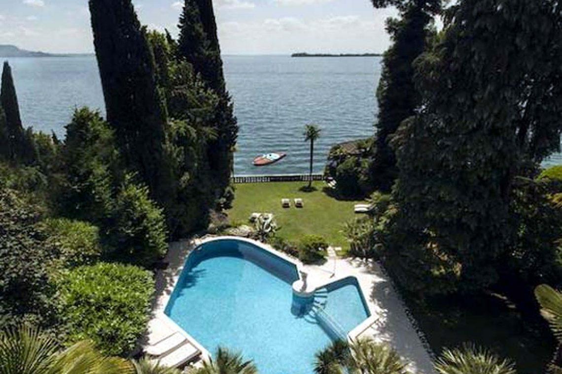 Historische Villa Gardasee zur Miete am See 03