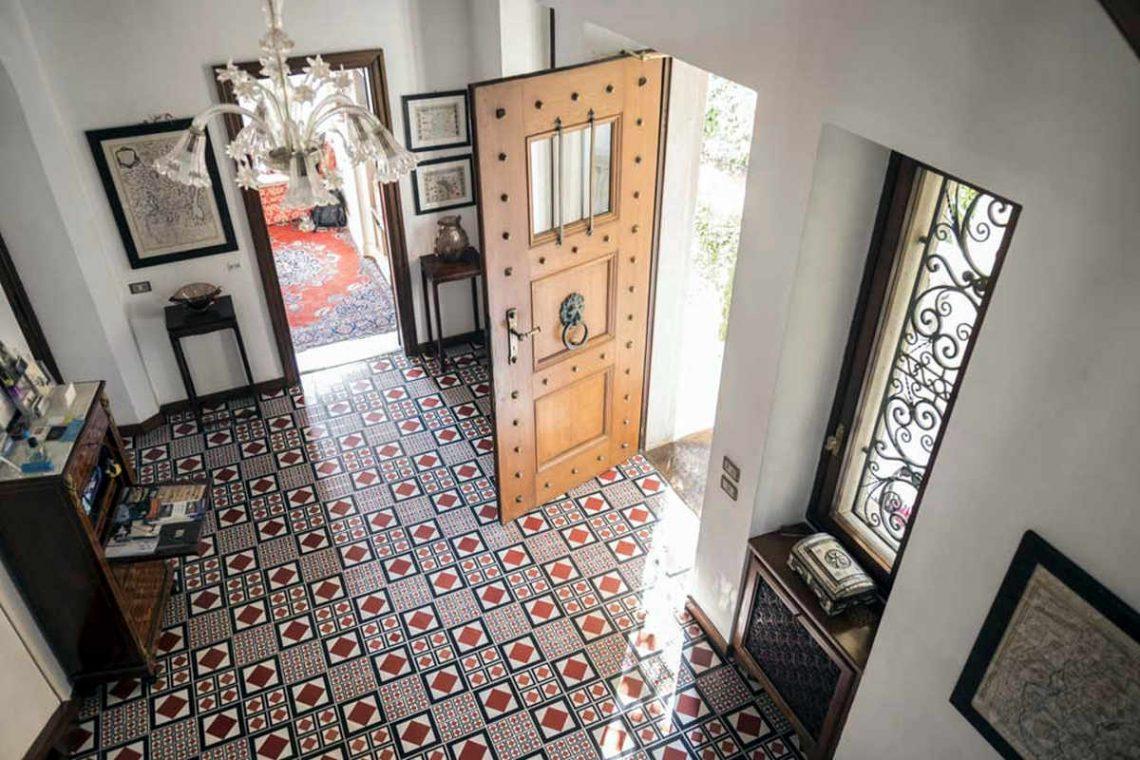Historische Villa Gardasee zur Miete am See 08