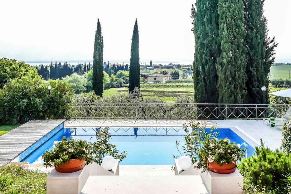 Villa Lazise zur Miete mit Panorama-Swimmingpool 02