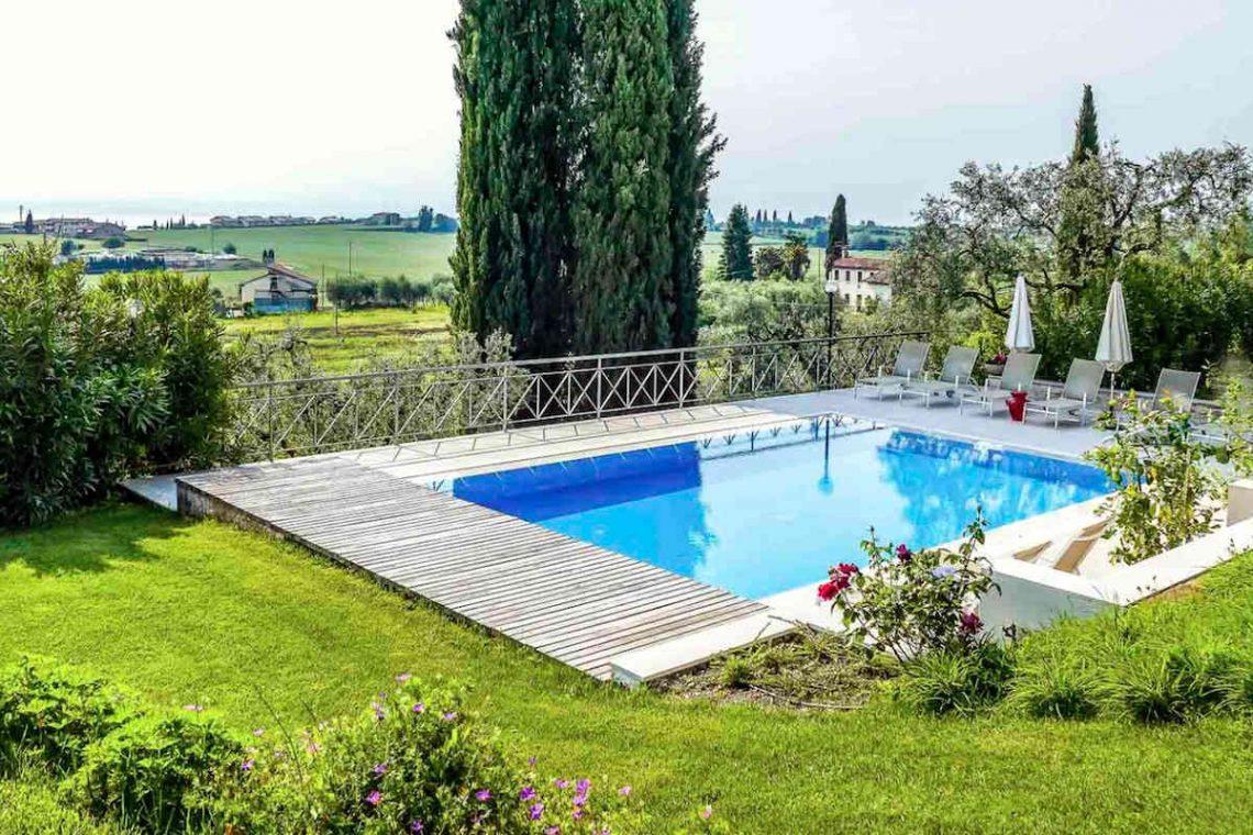Villa Lazise zur Miete mit Panorama-Swimmingpool 04