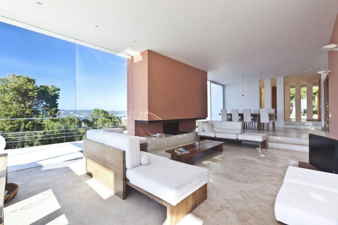 ibiza villa rent minimalist design 12
