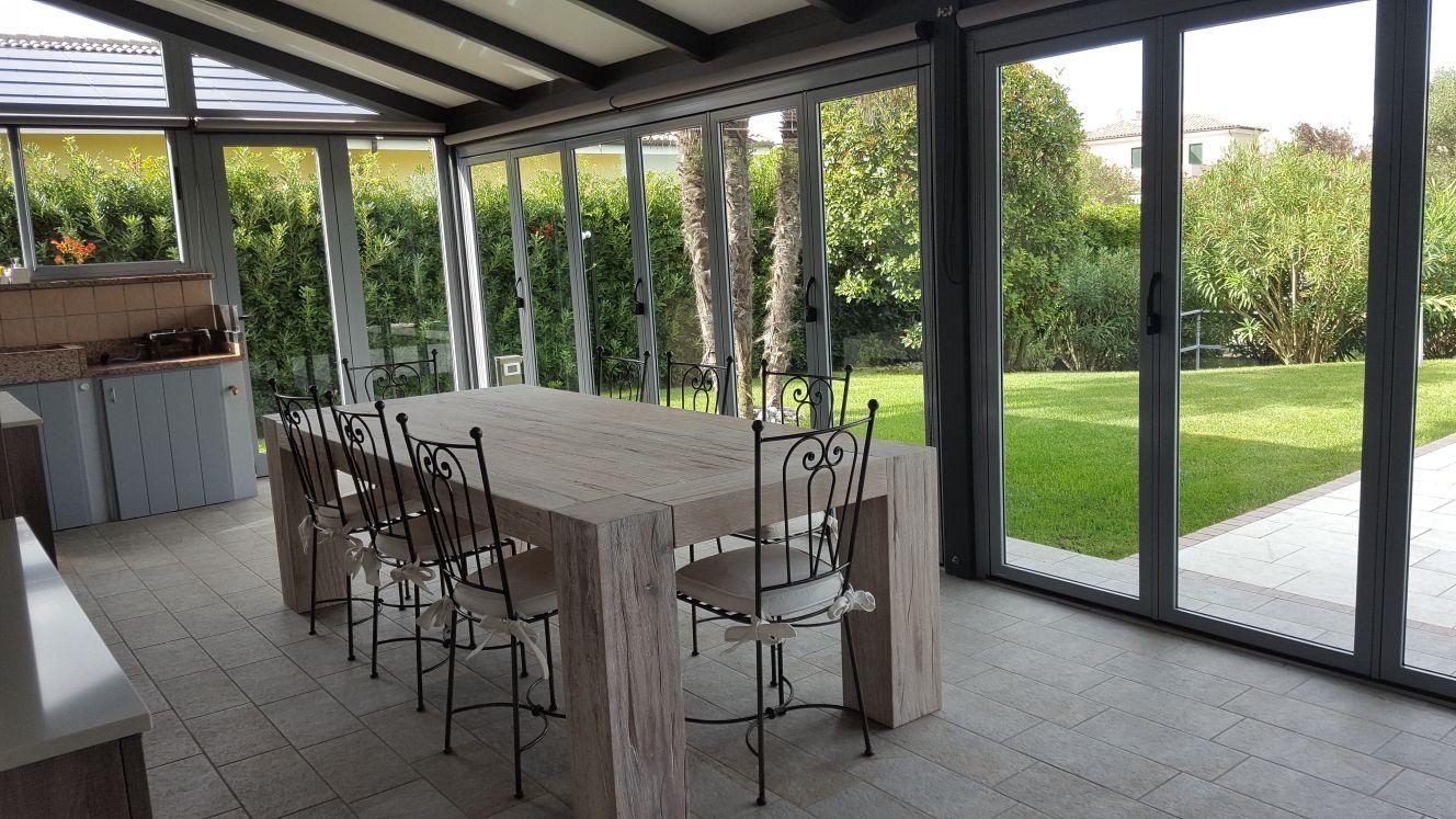 Villa in Albarella mit privatem Doppelsteg