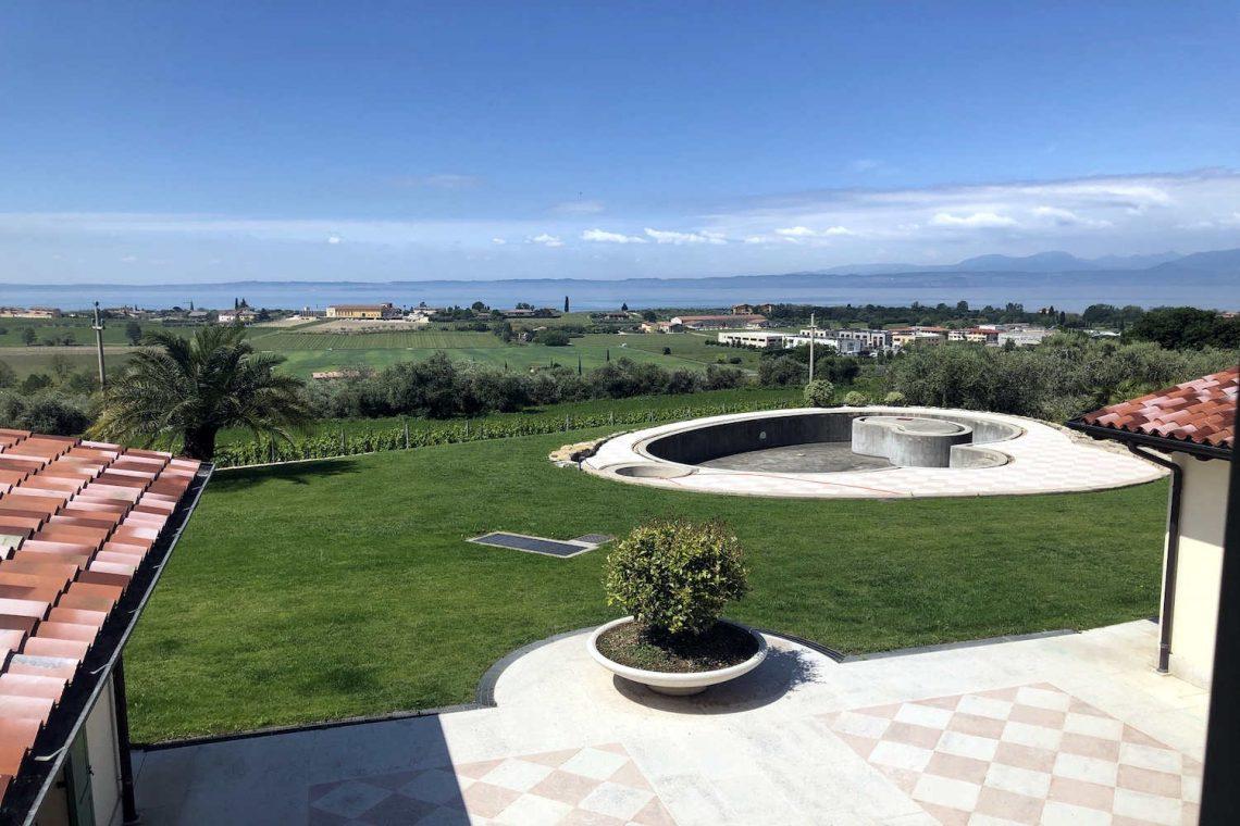 Villa in Bardolino verkauf in Panoramalage mit Seeblick 02