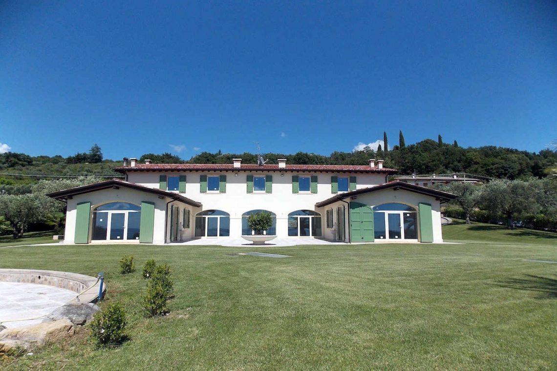 Villa in Bardolino verkauf in Panoramalage mit Seeblick 05
