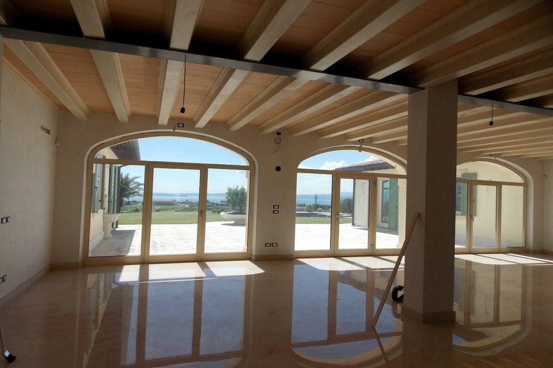 Villa in Bardolino verkauf in Panoramalage mit Seeblick 09