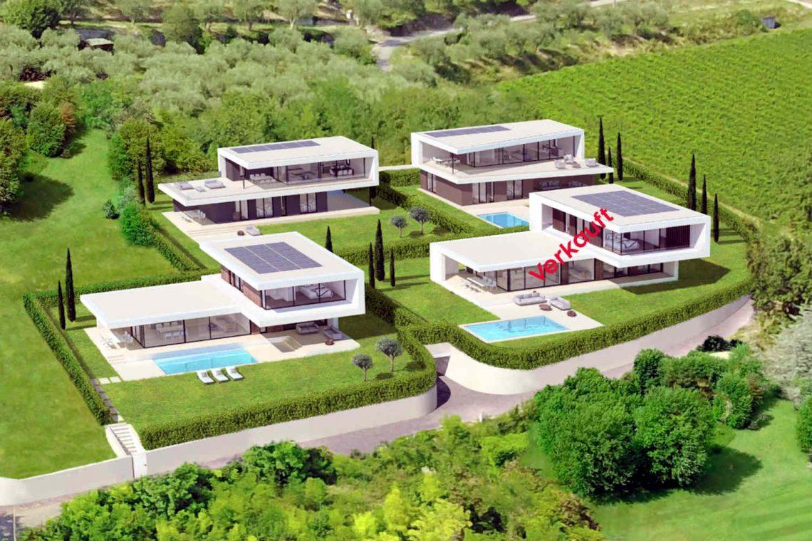 Villa Garda Seeblick in Panoramalage und Pool 06
