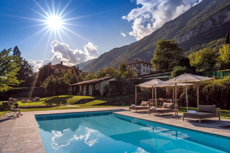 Historische Villa Comer See zur Miete 5-Sterne-Service