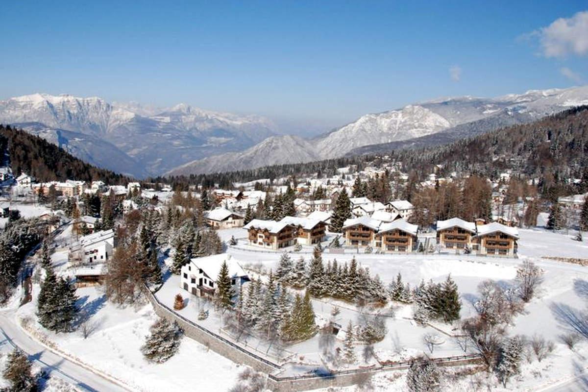 Folgaria Ski Wohnungen auf den Skipisten