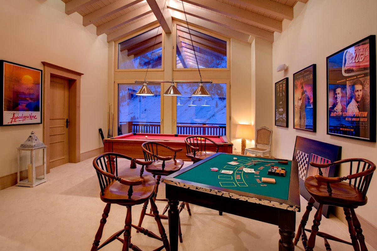 Luxus Chalet Zermatt zu vermieten mit 5 Sterne service