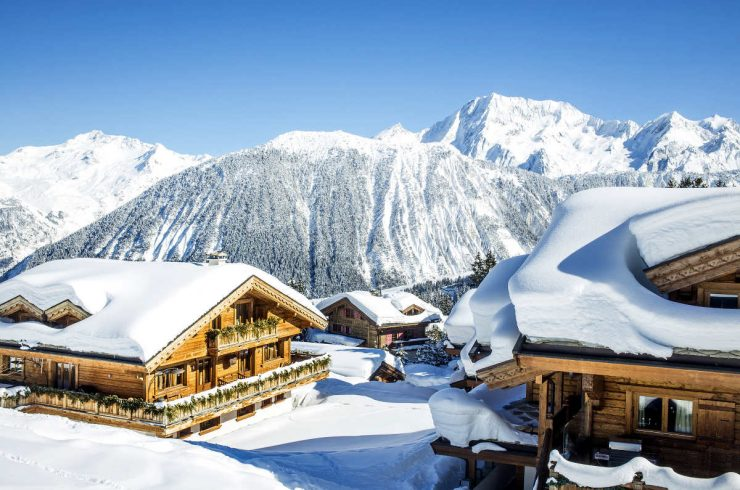 Chalet Courchevel 1850 an skipisten